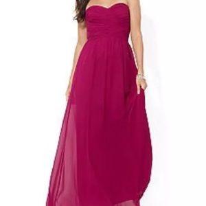 NWT Ralph Lauren Maxi Berry Dress Gown sz 14